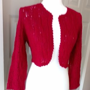 The Limited Crocheted Shrug